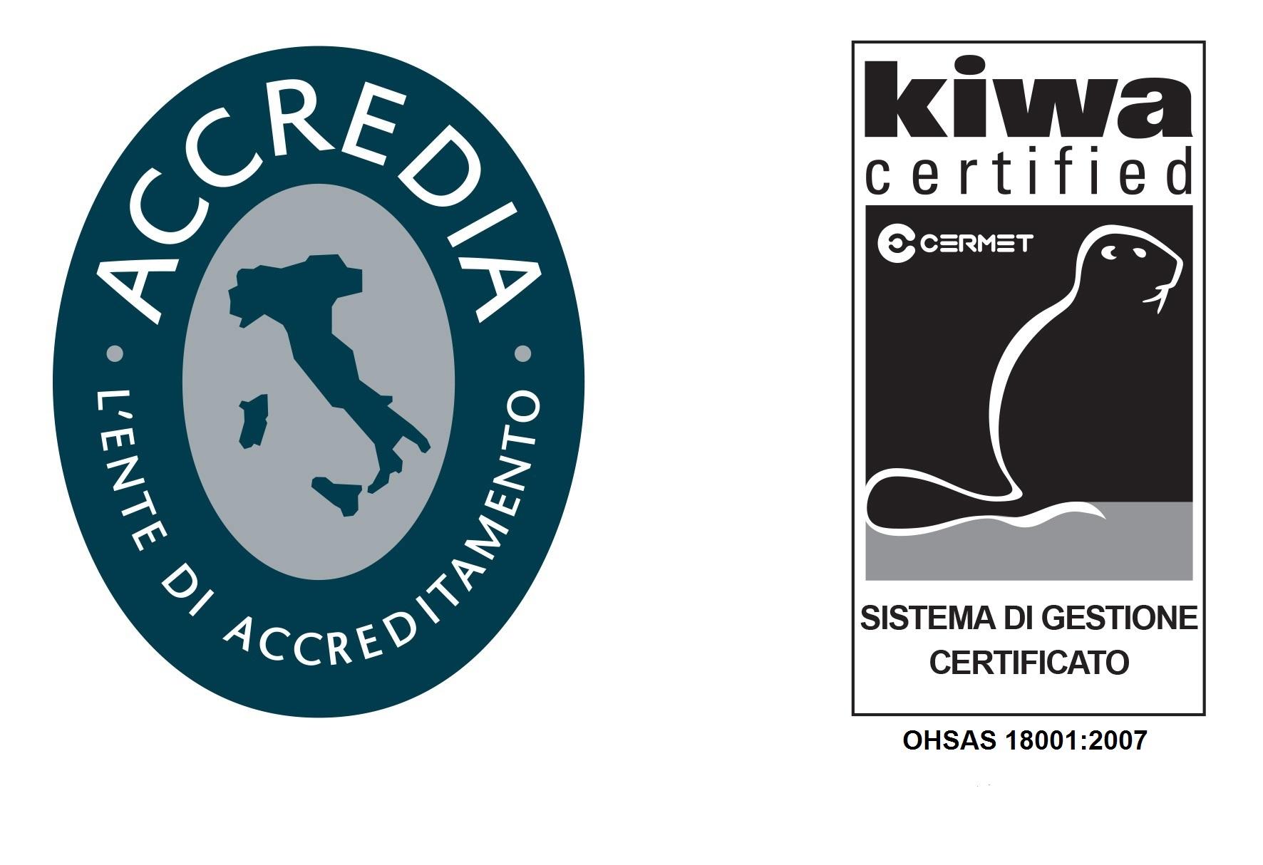 LOGO - Certificazioni di qualità OHSAS 18001:2007